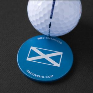 Scottish Flag– BIG ball marker